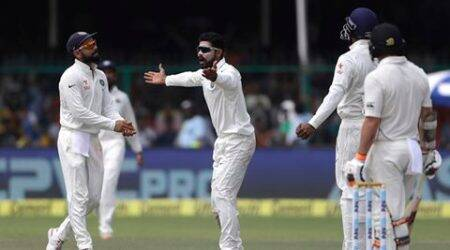 Ind vs NZ: Visitors strong after poor spin show by Indians