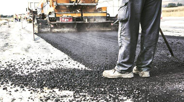 road, roads in india, road project, nhai road project, NHAI, road project delays, reasons for delay, reasons for road project delay, bank loan, interest rate, idc, revenue collection, additional debt, indian express news, india news, latest news