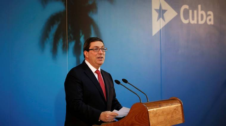 cuba, new immigration policy cuba,  Bruno Rodriguez , Guantanamo Bay, US-Cuba, Washington, cuban diplomats, cuba news, world news, indian express news