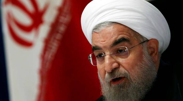 Hassan Rouhani, Iran President, US President-elect Donald Trump, Trump, University of Tehran, Iran Nuclear deal, Iran-US, Trump-Rouhani, world news, indian express news