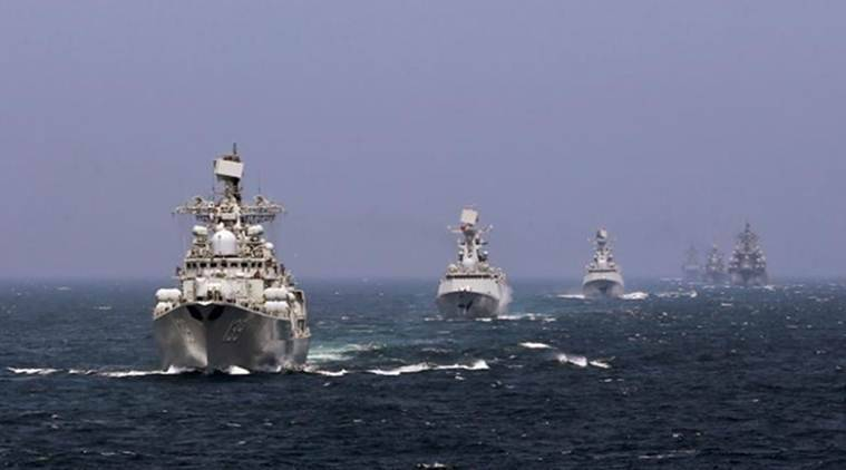 South China Sea, Russia, China, Russua-China Naval Exercise, Naval Exercise in South China sea, China-Russia relations, China news, South China sea news, international news, International relations news, foreign affairs news, South China sea war games, Latest news, world news