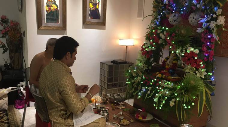 Sachin Tendulkar Wishes Fans On Ganesh Chaturthi The