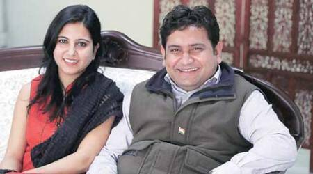 Rape case against AAP MLA: Wife alleges conspiracy, says will stand by Sandeep Kumar