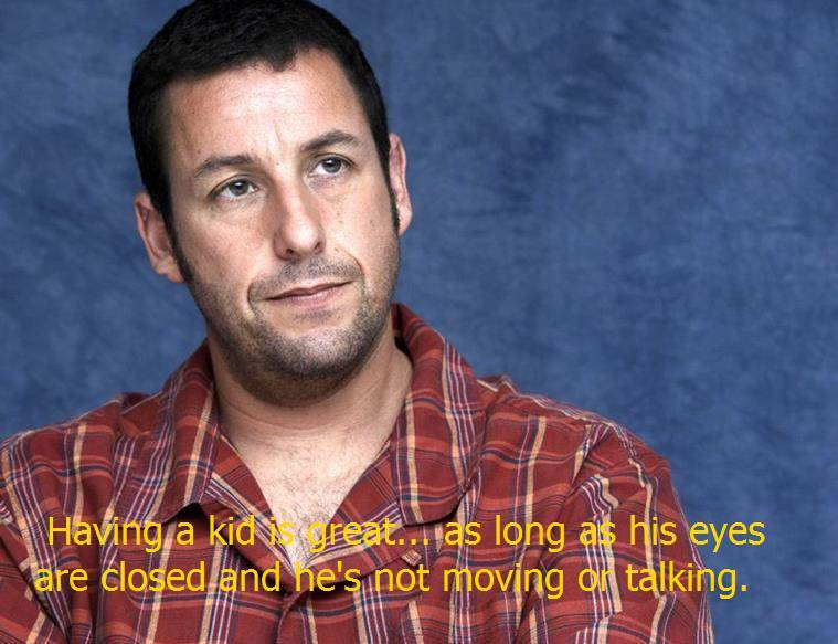 Adam Sandler quotes.