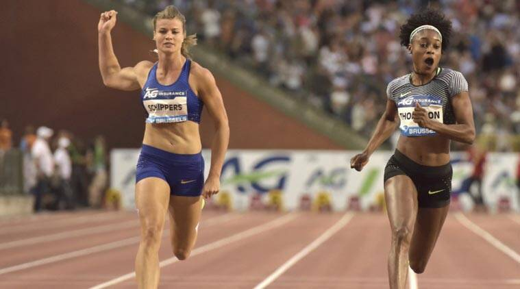 Elaine Thompson, dafne schippers, schippers, olympics, rio olympics 100m, olympics 100m, van damme memorial, athletics, sports news, sports