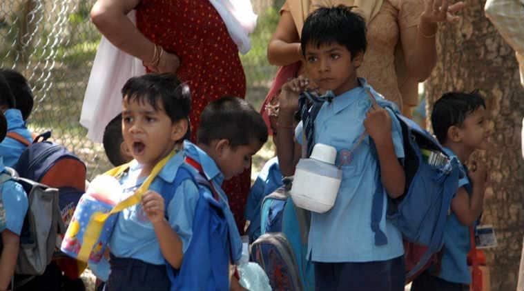 Haryana government, school bags, no school bags, haryana students, haryana schools, indian express news, education