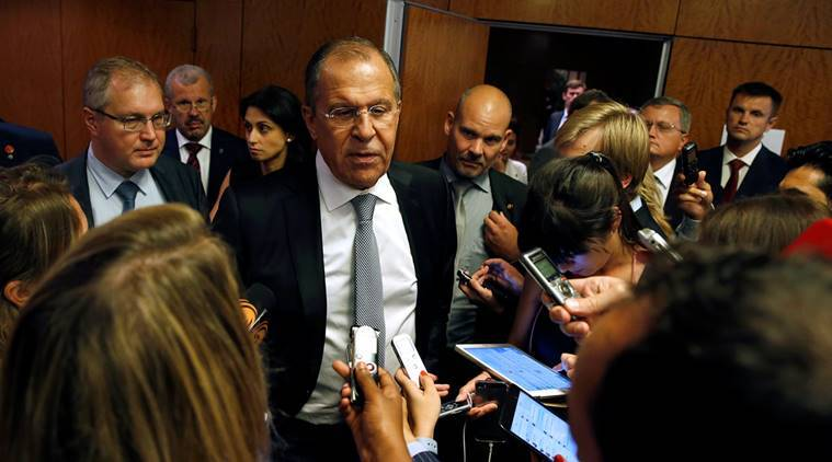 Russia, US, talks, syria ceasefire, syria civil war, syria war, internal disturbance, Russia-US deal, Russian Foreign Minister, Sergey Lavrov, US state secretary, John Kerry,world news, indian express
