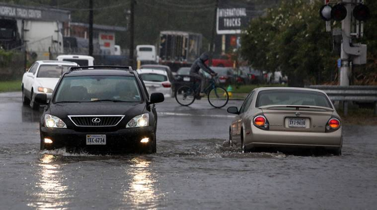 north carolina, north carolina floods, north carolina weather, storms in north carolina, tropical storm julia, world news