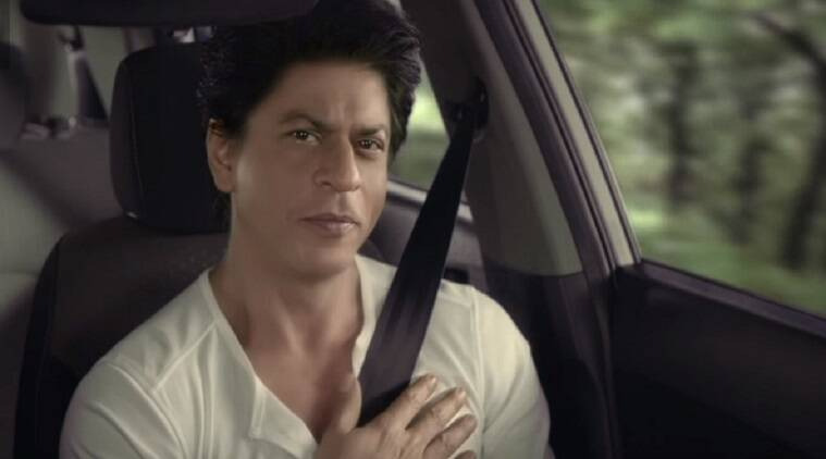 shah rukh khan, car safety