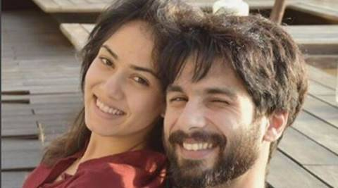 Shahid Kapoor is breaking all cuteness records  in this throwback picture with wife Mira