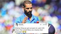 Shikhar Dhawan massively trolled on Twitter for his performance in India vs New Zealand test match
