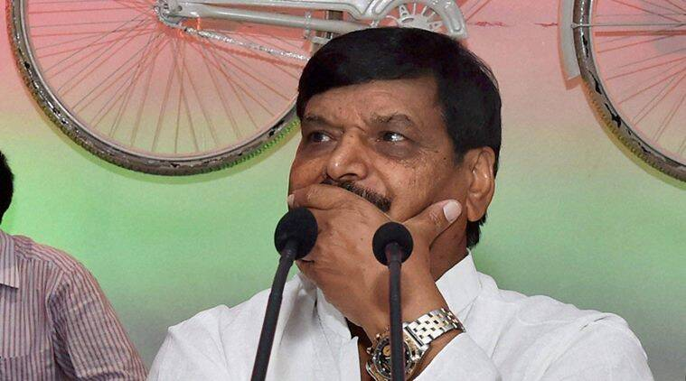 Shivpal yadav, akhilesh yadav, samajwadi party, uttar pradesh elections, UP elections, Tej Narain, pawan Pandey, India news, Uttar pradesh, indian express news