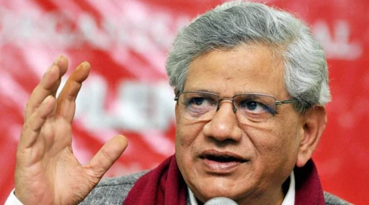 Demonetisation, sitaram Yechury, notes demonatisation, notes scrapped, black money, reserve bank of india, narendra modi government, india news, indian express