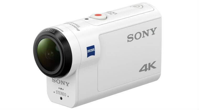 Sony, Sony action camera, FDR-X3000R, new action camera, action camera with 4K, action camera with OIS, FDR-X3000R features, Sony action camera attachments, Balance Optical SteadyShot, action camera, technology, technology news