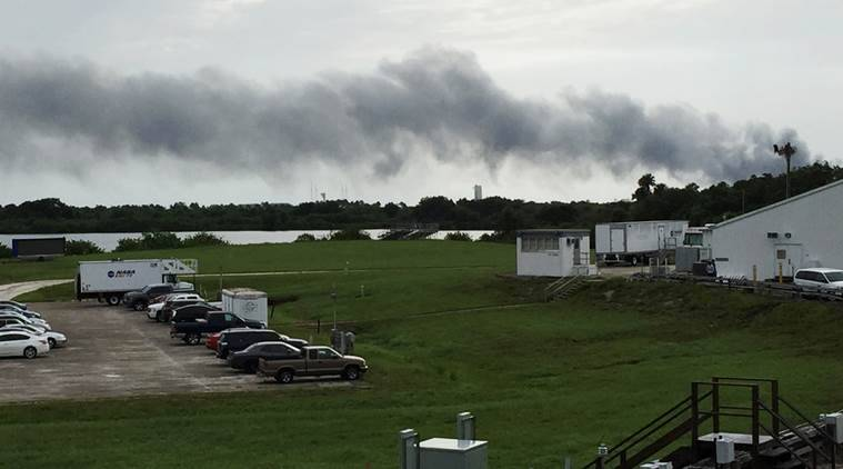 Explosion rocks SpaceX launch pad in Florida during test