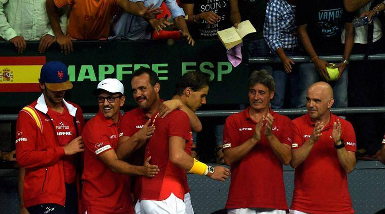 Davis Cup, Davis Cup 2016, India vs Spain, Spain vs India, Feliciano Lopez, Marc Lopez, Rafael Nadal, David Ferrer, Leander Paes, Myneni, Ramkumar , Anand Amritraj, Tennis news, Tennis