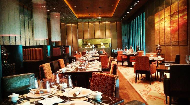 The unique architecture and colour of the restaurant adds to the gastronomic experience at Spicy Duck.