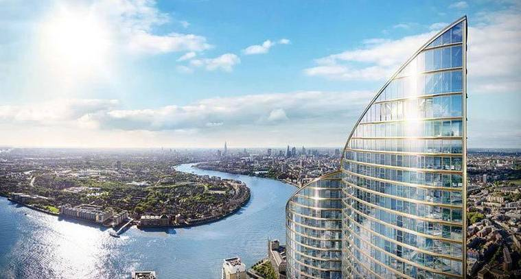 tallest building in london, london, greenland group, tallest building in west europe, spire london, greenland group spire london, china company build tallest building in london, london news, europe news, latest news,