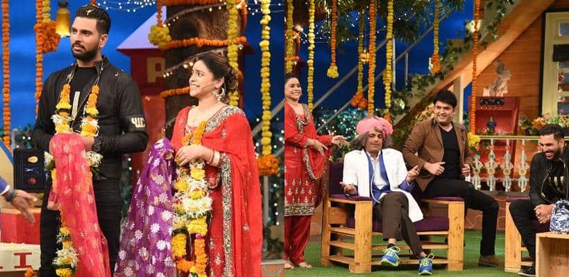 YUVRAAJ SINGH, COMEDY NIGHTS WITH KAPIL, Sumona Chakravarti , yuvraaj singh latest news, yuvraj singh latest updates, hazel keech, entertainment news, indian express, indian express news