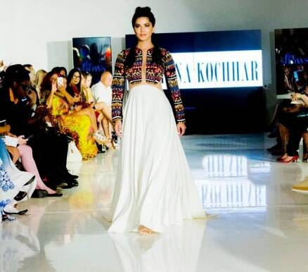 Sunny Leone sets the runway scorching at the New York Fashion Week 2016