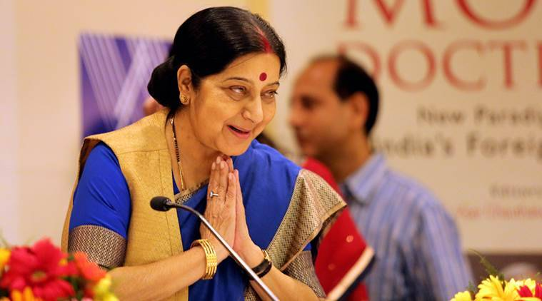 Sushma swaraj, sushma, sushma helps sailor, sushma swaraj external affairs minister, sushma swaraj helps sick sailor, yemen sailor, sushma swaraj on twitter, sushma swaraj tweets, india news, indian express news