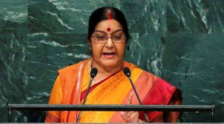 Sushma Swaraj in UN: Such countries (Pakistan) should have no place in global community