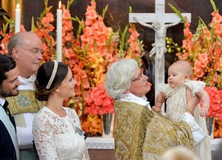 Swedish Prince Alexander's christening photos are the ultimate in royalty cuteness
