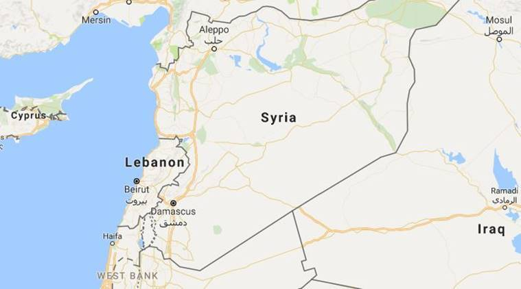 The Sunni militants are members of Islamic State and the former Nusra Front, groups fighting Syria's President Bashar al-Assad. (Source: Google maps)
