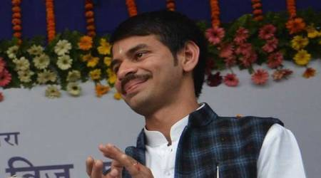 Tej Pratap Yadav has an interesting idea on how to celebrate Diwali. It involves lots of balloons