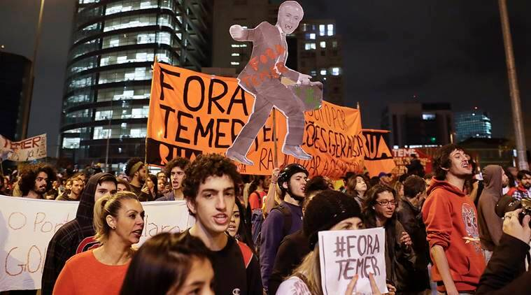 Brazil, Michel Temer, Grace Maria Fernandes Mendonca, attorney general, woman, cabinet, all-male cabinate, woman attorney general, brazil temer, brazil president, diputed president, disputed election, dilma rousseff, world news, indian express