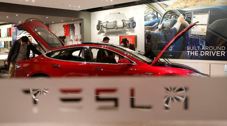 Tesla, Tesla motors, US, US electric car, US electric car Tesla, Japanese electronics company Panasonic Corp, panasonic, Tesla solar energy, business news
