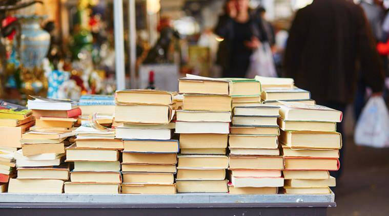 book vendors, flea market