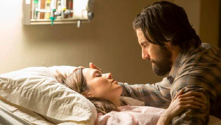 this is us, mandy moore, mandy moore this is us, this is us Mandy Moore, this is us Milo Ventimiglia, this is us Sterling K. Brown, this is us Chrissy Metz, this is us Justin Hartley, this is us Susan Kelechi Watson, this is us Chris Sullivan Ron Cephas Jones, entertainment news, indian express, indian express news