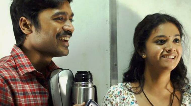 Thodari movie review, Thodari movie, Thodari review, Dhanush, Keerthy Suresh, Thodari image