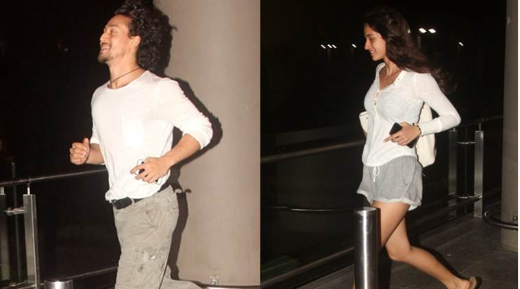 Tiger Shroff was seen with his rumoured girlfriend Disha Patani at the Mumbai airport. They were seen running one after the other while making their way outside the airport. After A Flying Jatt, Tiger will be next seen in Karan Johar's Student Of The Year 2 while Disha Patani will be seen playing Sakshi Dhoni in the MS Dhoni biopic which is slated to release on September 30.