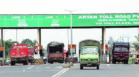 national highways, toll tax, toll tax national highways, public funded national highways, morth, toll operate transfer, tot model, tot model india, nhai, indian express