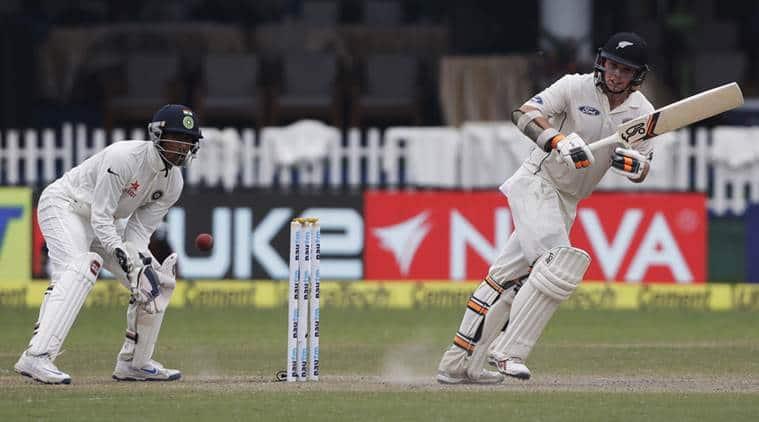 india vs new zealand, india vs new zealand first test, tom latham, tom latham out, tom latham decision, tom latham not out, new zealand batsman, new zealand innings, india vs new zealand first test, india vs new zealand second day, cricket news, sport news