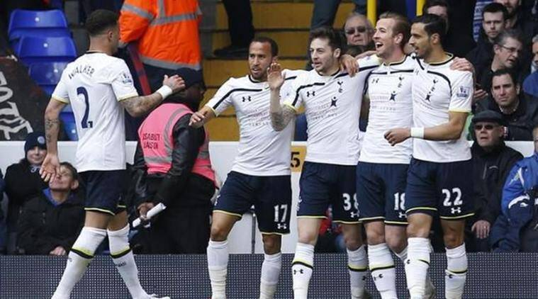 Tottenham beats Stoke 4-0 as Kane gets off the mark