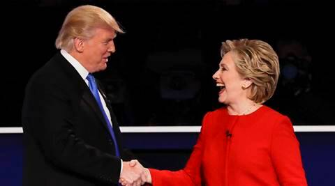 us presidential debate, us debate, us elections 2016, us elections update, us elections, hillary clinton vs donald trump, donald trump debate, world news, indian express,