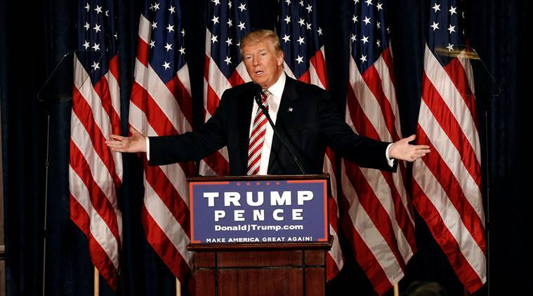 Donald Trump, Trump, US, US elections, US election campaign, military, military expenditure, strengthen military, hillary clinton, Us election news, world news, indian express