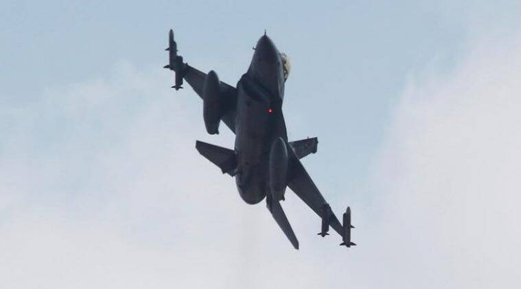 A Turkish F-16 fighter jet takes off from Incirlik airbase in the southern city of Adana, Turkey, July 27, 2015. REUTERS/Murad Sezer
