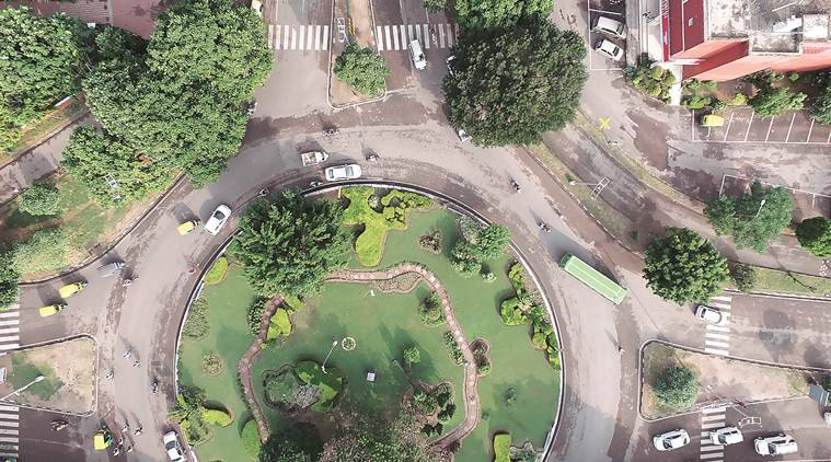 Chandigarh, Geographical Information System, GIS, UAV drones, aerial survey of properties, Chandigarh news, India news, latest news, Indian express
