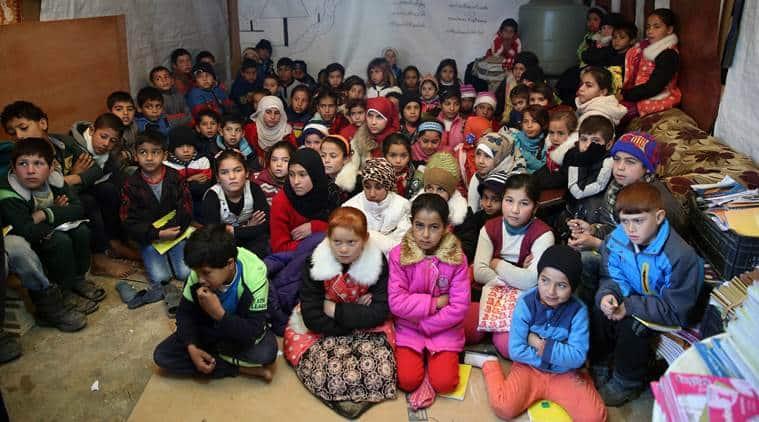 UN, UN agency, UNHCR, UN refugee agency, refugee children, migrants, education of refugee children, education, UN news, world news, latest news, Indian express