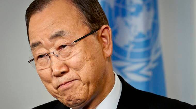 UN, United Nations, Ban Ki-Moon, Syria, Syrian civil war, Syrian war, UN chief, Ban Ki-moon criticises world leaders, United Nations news, Syria news, world news, latest news, Indian express
