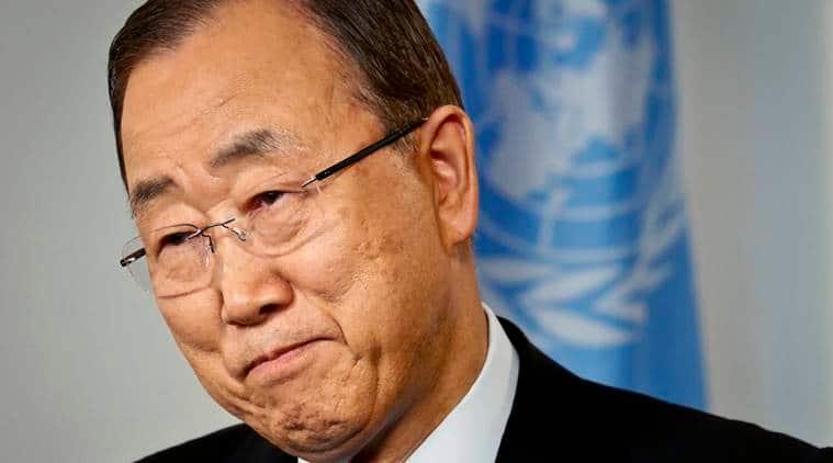 South Korea political crisis, South Korea presidential scandal, South Korea scandal, South Korea crisis, Park Geun-hye, Ban Ki-moon, UN chief, South Korean president, South Korea news, world news, latest news, indian express
