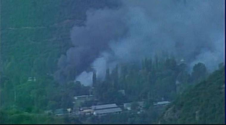 uri attack, uri terror attack, baramulla attack, kashmir militant attack, indian army attack, indian army battalion attacked, india news, latest news, indian express news