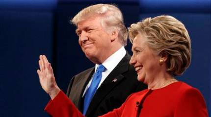 US: Hillary Clinton leading opponent Donald Trump by 3 points