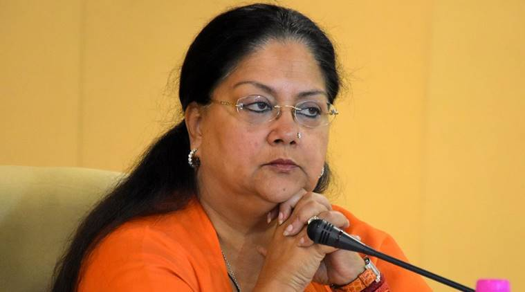 students, rajasthan students, rajasthan education, Vasundhara Raje, Sri Sri Ravi Shankar, yoga, meditation, stress, exam stress, rajasthan yoga, education news, indian express news