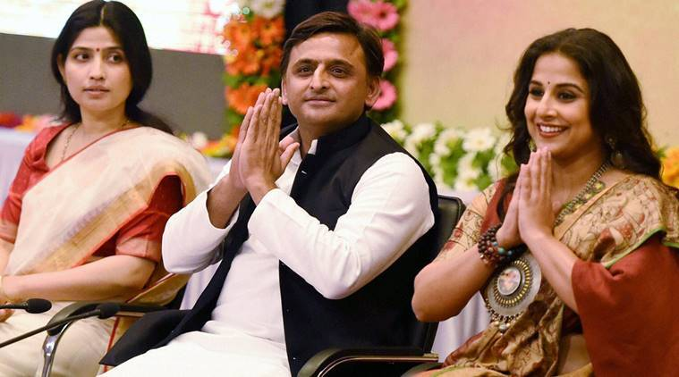 Vidya balan, vidya, UP, uttar pradesh, Samajwadi pension scheme, government scheme, government plan, ambassador, scheme ambassador, india news, indian express