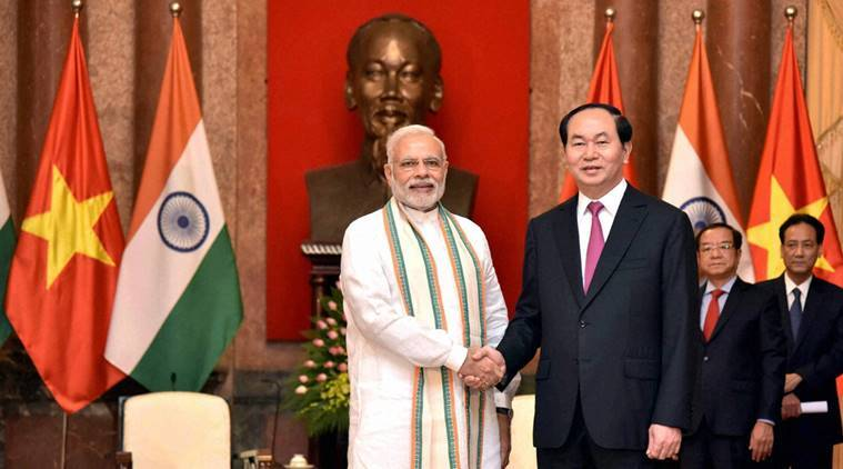 Vietnam, India, India Vietnam, india vietnam ties, bilateral ties, Prime minister Modi, Narendra modi, south china sea, south china sea dipute, disputed south china sea, India's position, india news